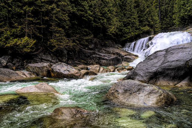 Gold Creek Lower Falls