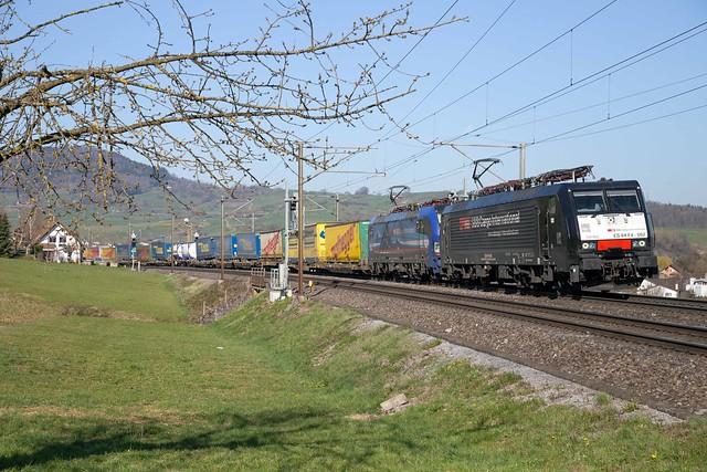 MRCE Dispolok 189 982 + SBB Cargo 193 516 Frick