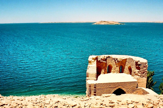 Lake Assad and Qal'at Ja'bar, Syria