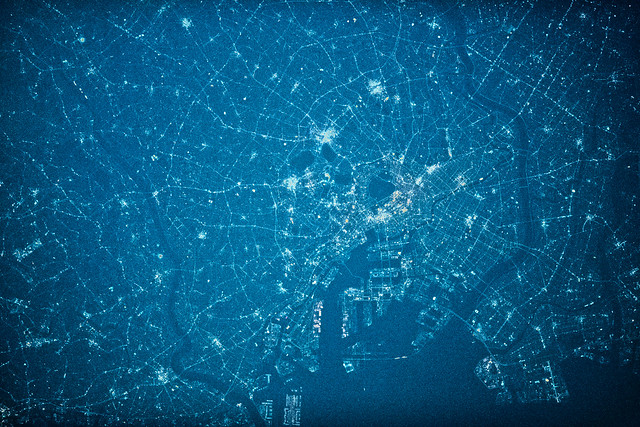 Tokyo in Blue Night, variant