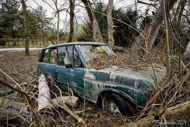 La Rover Rangée.