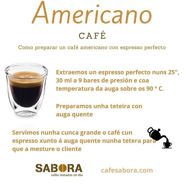 Como preparar un café americano con espresso perfecto