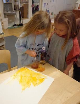 making orange