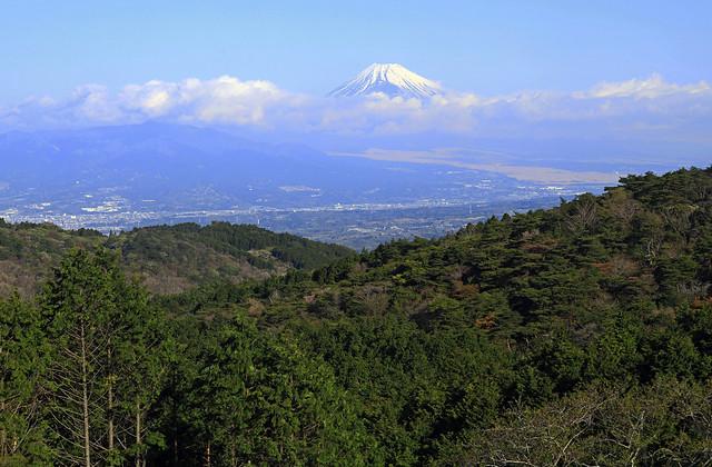 Mt.Fuji from Izu Skyline.