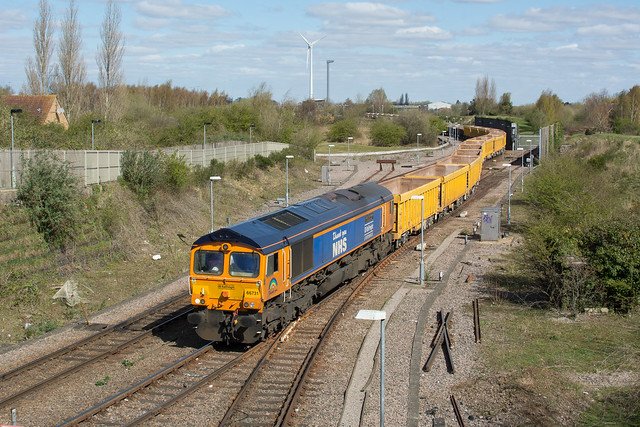 66731 March 07/04/21 - 6M60 1107 Whitemoor Yard L.D.C Gbrf to Mountsorell Gbrf