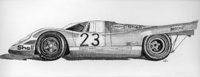 Porsche 917 K livery Salzburg 1970