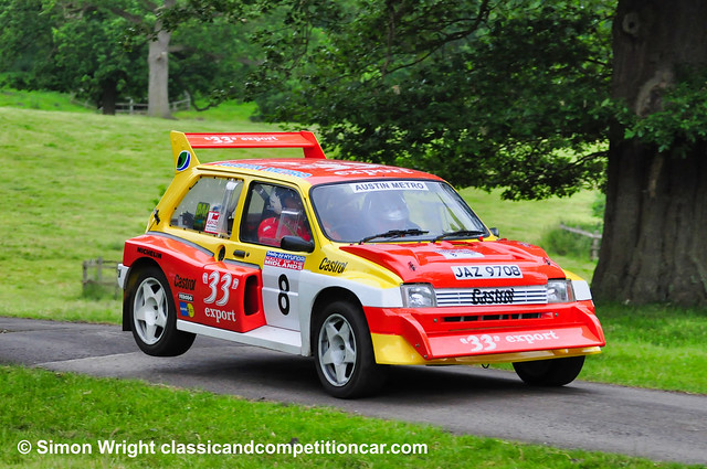 2009 John Marwood/Kate Gamez Metro 6R4 engine SS10