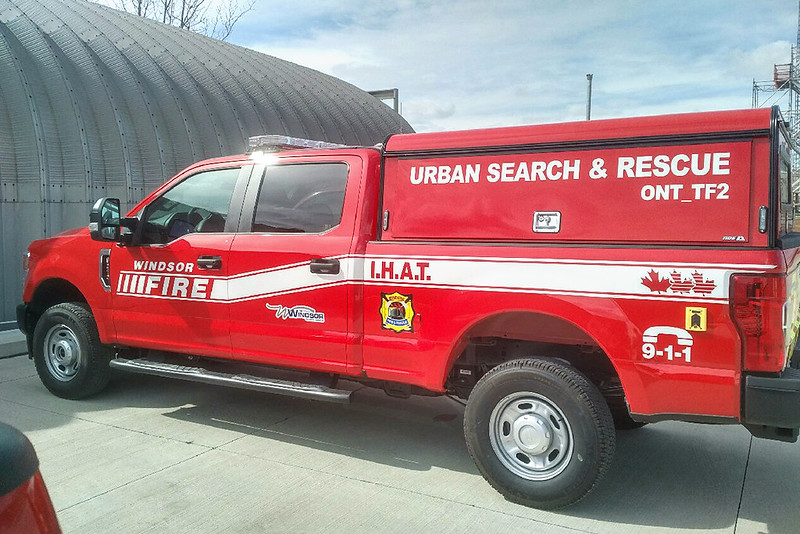 3034 USAR Pick-Up Truck