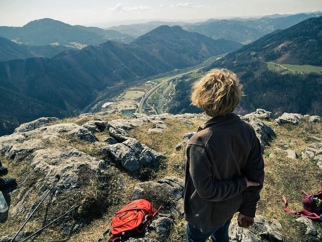 Der junge Wanderer