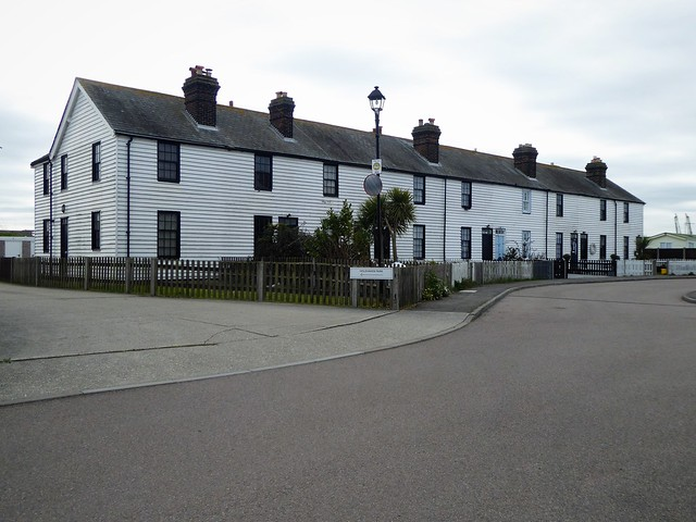 Former Coastguard Cottages, Canvey Island, Essex.