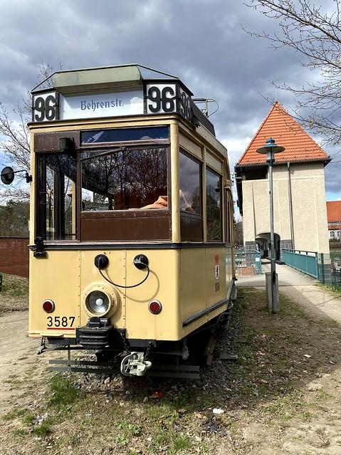 The historic Tram 96