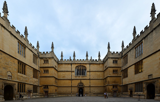 Courtyard of the Bodleian library