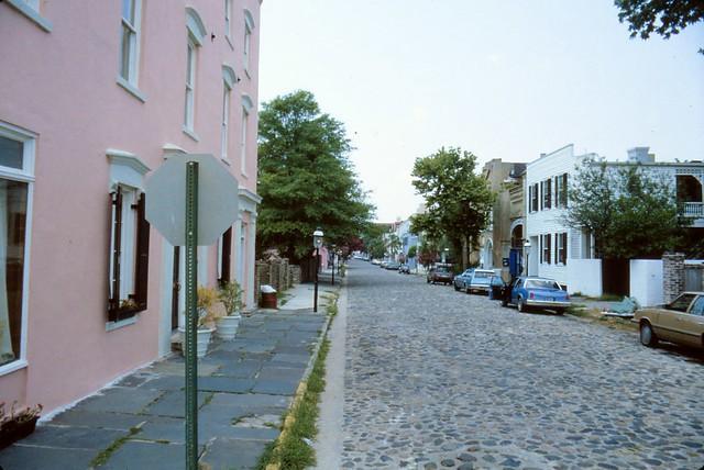 Charleston, SC - Cobblestone Street