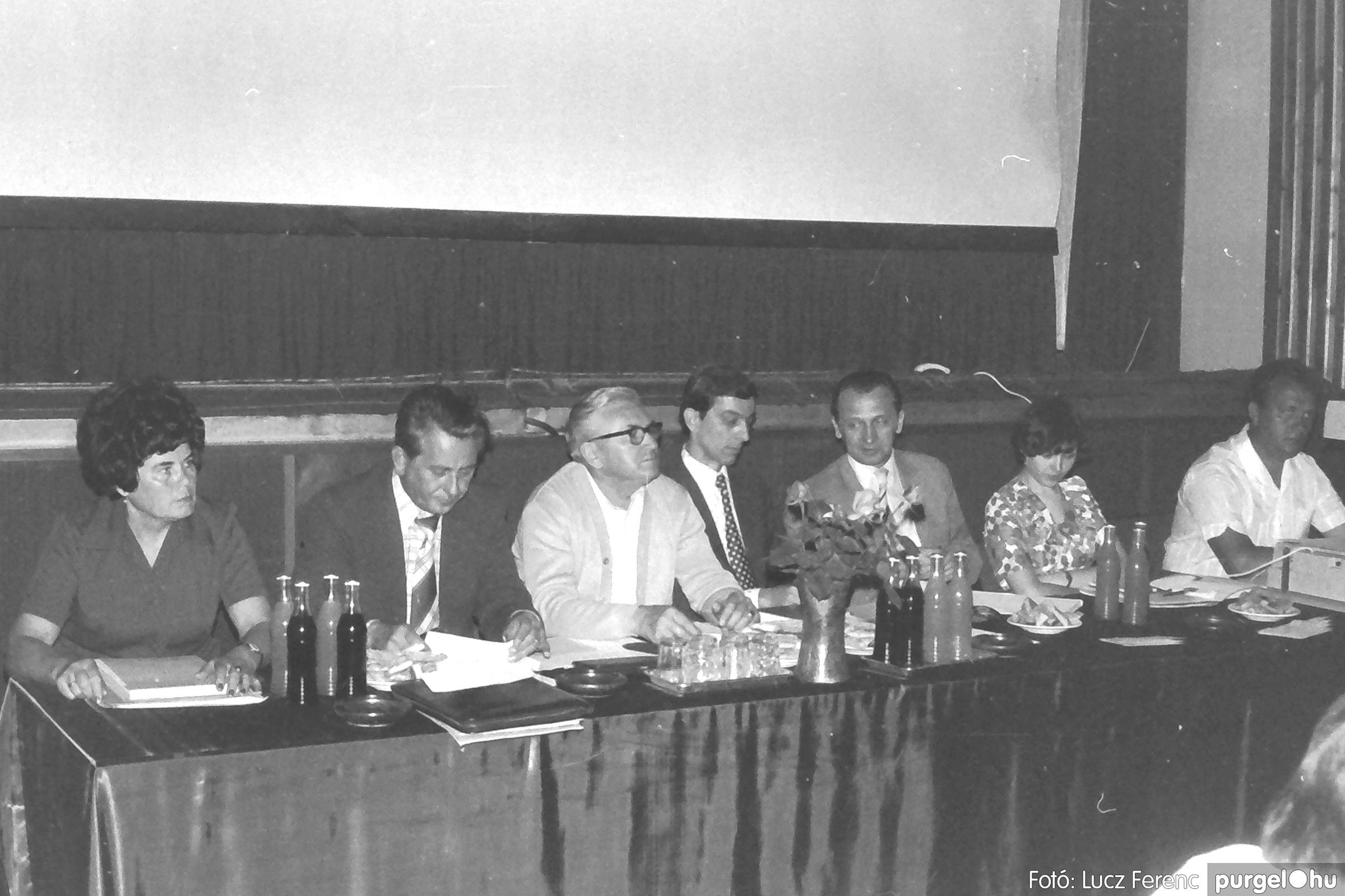 081. 1977. Kendergyári dolgozók vetélkedője 011. - Fotó: Lucz Ferenc.jpg