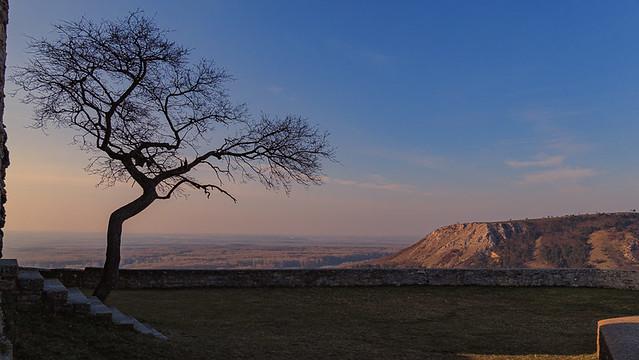 View from Heimenburg to Braunsberg