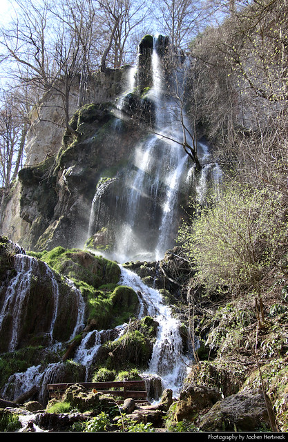 Uracher Wasserfall, Bad Urach, Germany