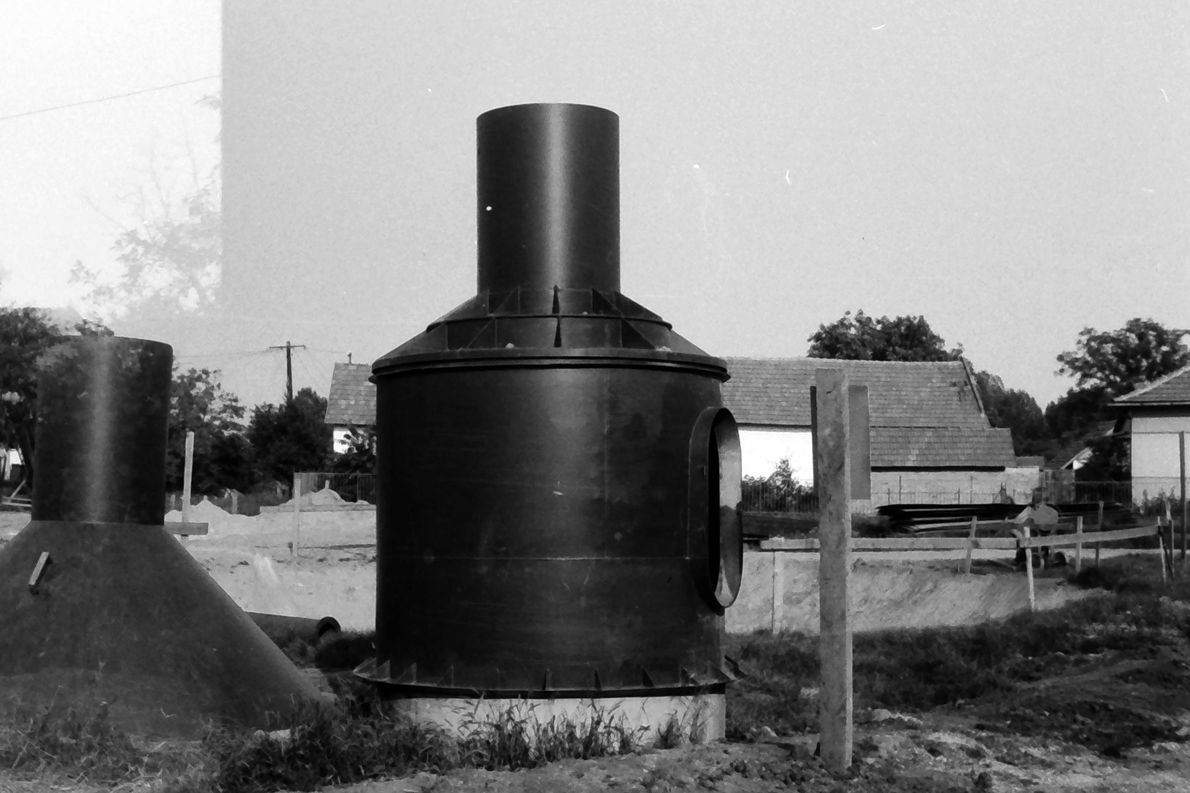 082. 1978. Épül a víztorony 005. - Fotó: Lucz Ferenc.jpg