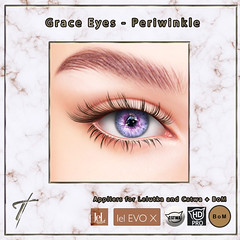 Tville - Grace Eyes *periwinkle*