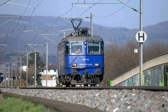 WRS Re 4/4 430 112 Sissach
