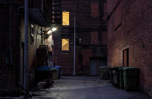 Bricks, walls and a bit of light