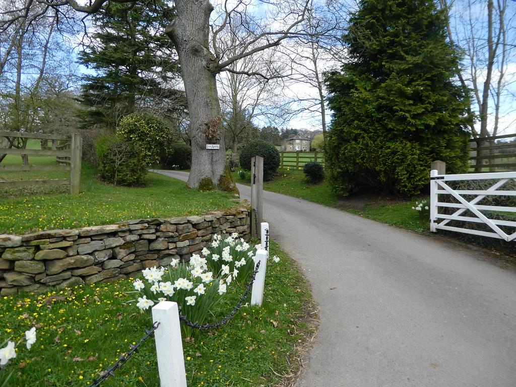 Pathway through farm gate in Ilkley