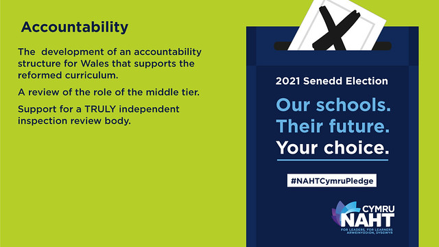 NAHT Cymru five priorities