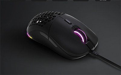 The Dreamcore SuperSolid Gemini One wired mouse is designed for both work and play and is fully customisable in all aspects.