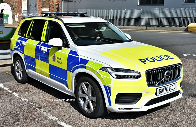 Kent Police Volvo XC90 GN70 FDG TD42
