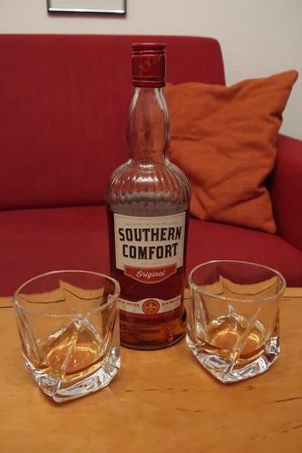 Southern Comfort zum Ausklang des Abends