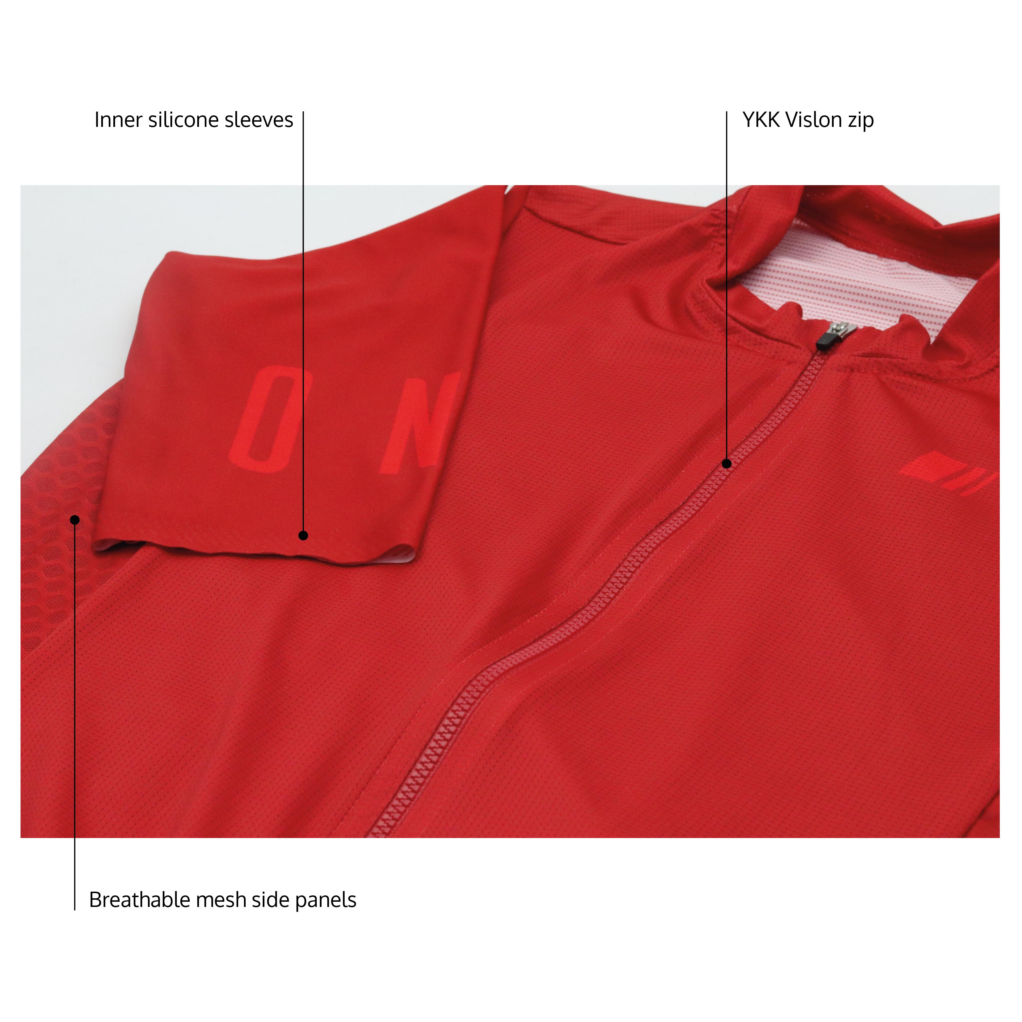 women's One Ruby Jersey Detail