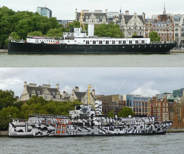 HMS President, London SW1.