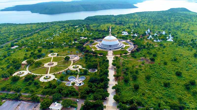 India Kembangkan Taman Bertema Buddhis Buddhavanam di Telangana