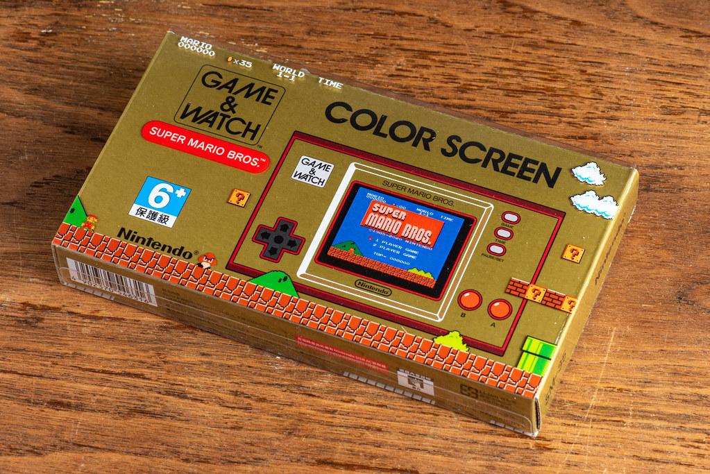 Nintendo Game & Watch Unboxing