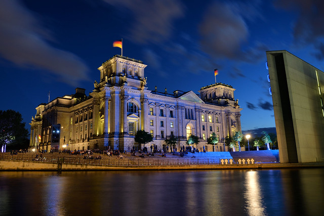 Reichstag and Opposite