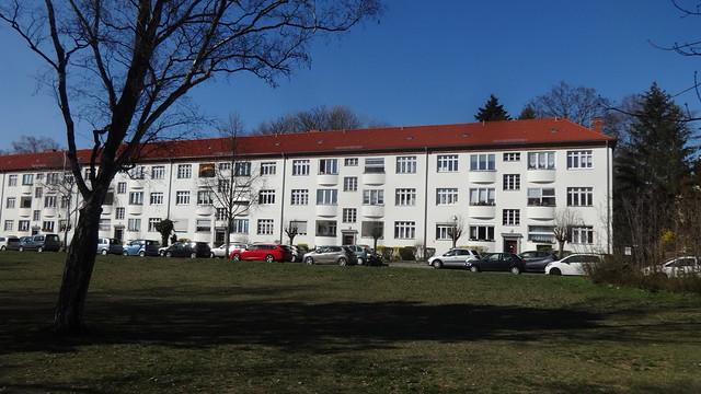 1927/28 Berlin Siedlung Wittenau von Hermann Muthesius Oranienburger Straße 221-228/Jathoweg 1-27/Taldorfer Weg 1-16/Telchowpromenade 2-32/Alt-Wittenau 74-84 in 13437 Wittenau