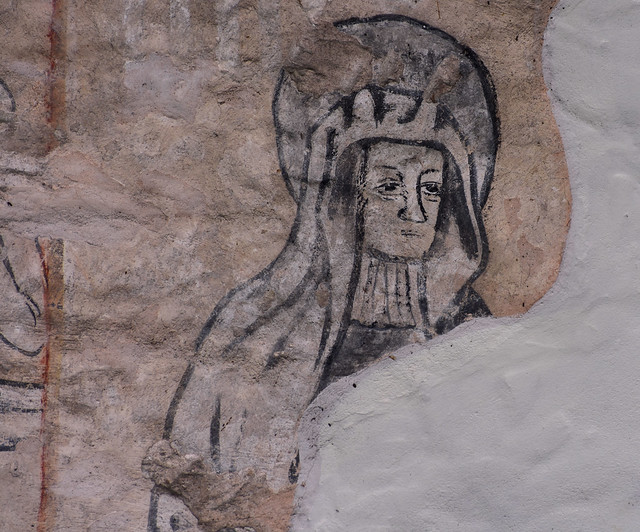 Cound, Salop., St. Peter's, doom, detail