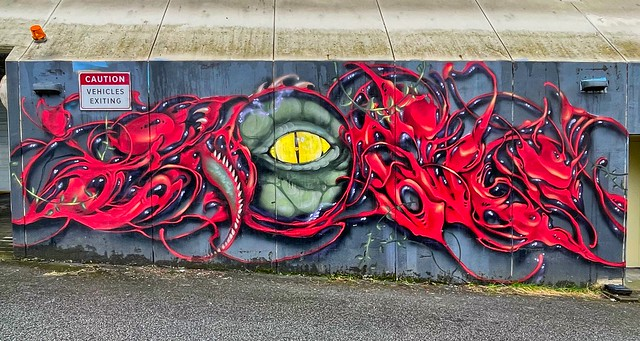 2021 - Vancouver - Def3 Mural - 2018 Vancouver Mural Festival