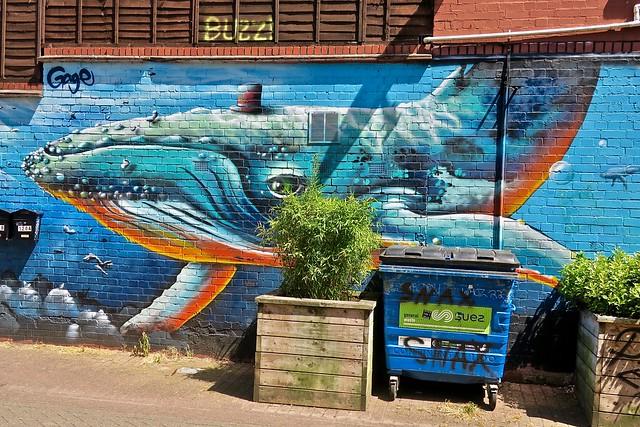 Whale, Bristol, UK