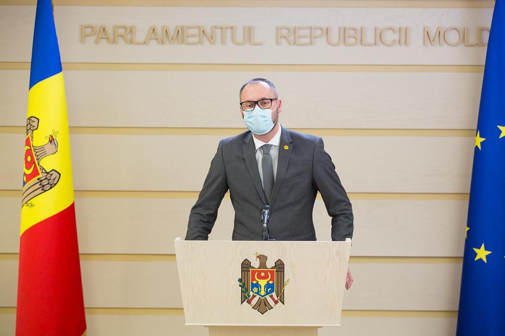 09.04.2021 Briefing de presă al deputatului Sergiu LItvinenco, Fracțiunea PAS