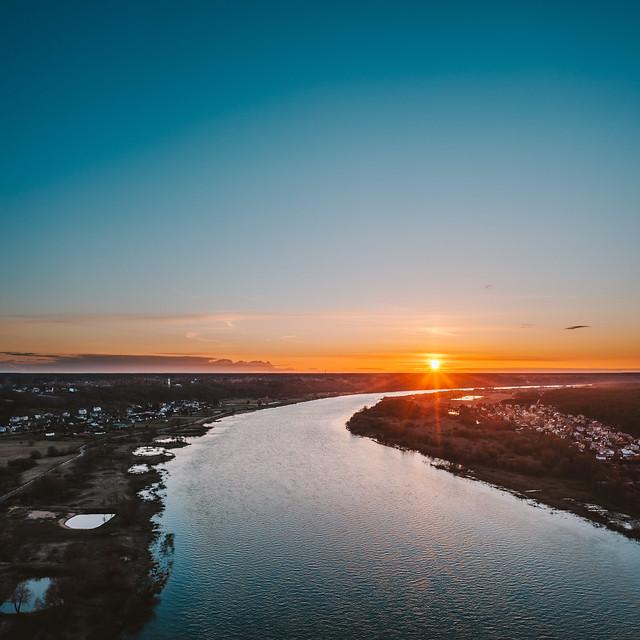 Nemunas river | Kaunas county aerial #98/365