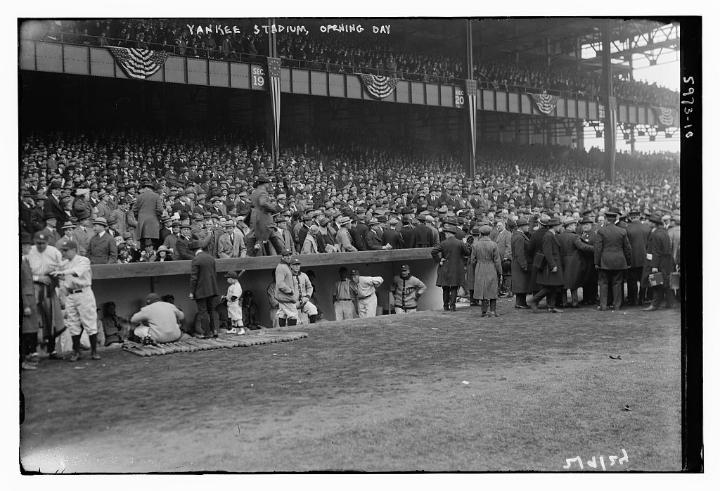 Yankee Stadium opening day, 4/18/1923 (LOC)