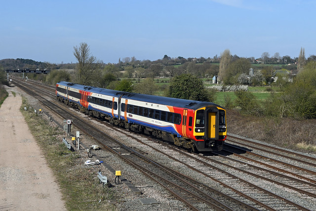 158864 158854 Trowell Junction