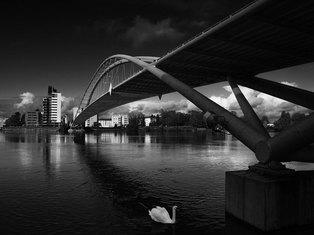 """Weil am Rhein """"Dreiländerbrücke"""""""
