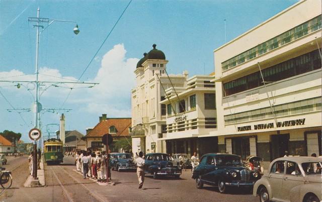 Surabaya - Jalan Pahlawan, 1960
