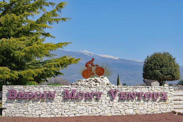 Bédoin (Vaucluse) : versant sud du Mont Ventoux
