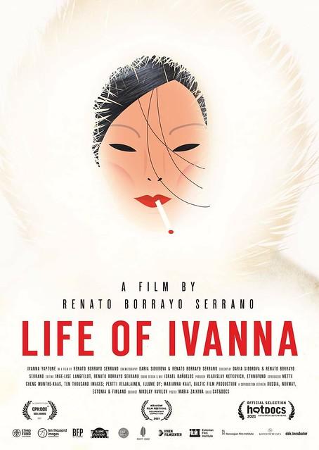 Maria Zaikina, poster for Life of Ivanna, a documentary by Renato Borrayo Serrano, 2021