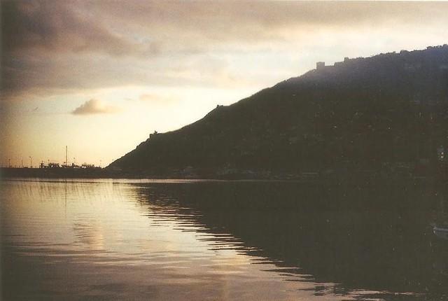 Silhouette, Alanya Castle