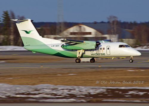 Widerøes Dash 8-100 LN-WID at ENGM/OSL 06-04-2015 | by Ole Johan Beck