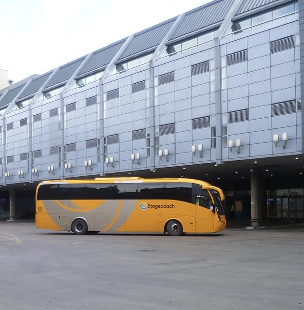 Stagecoach East Scotland 53734 arrives at Edinburgh Bus Station.
