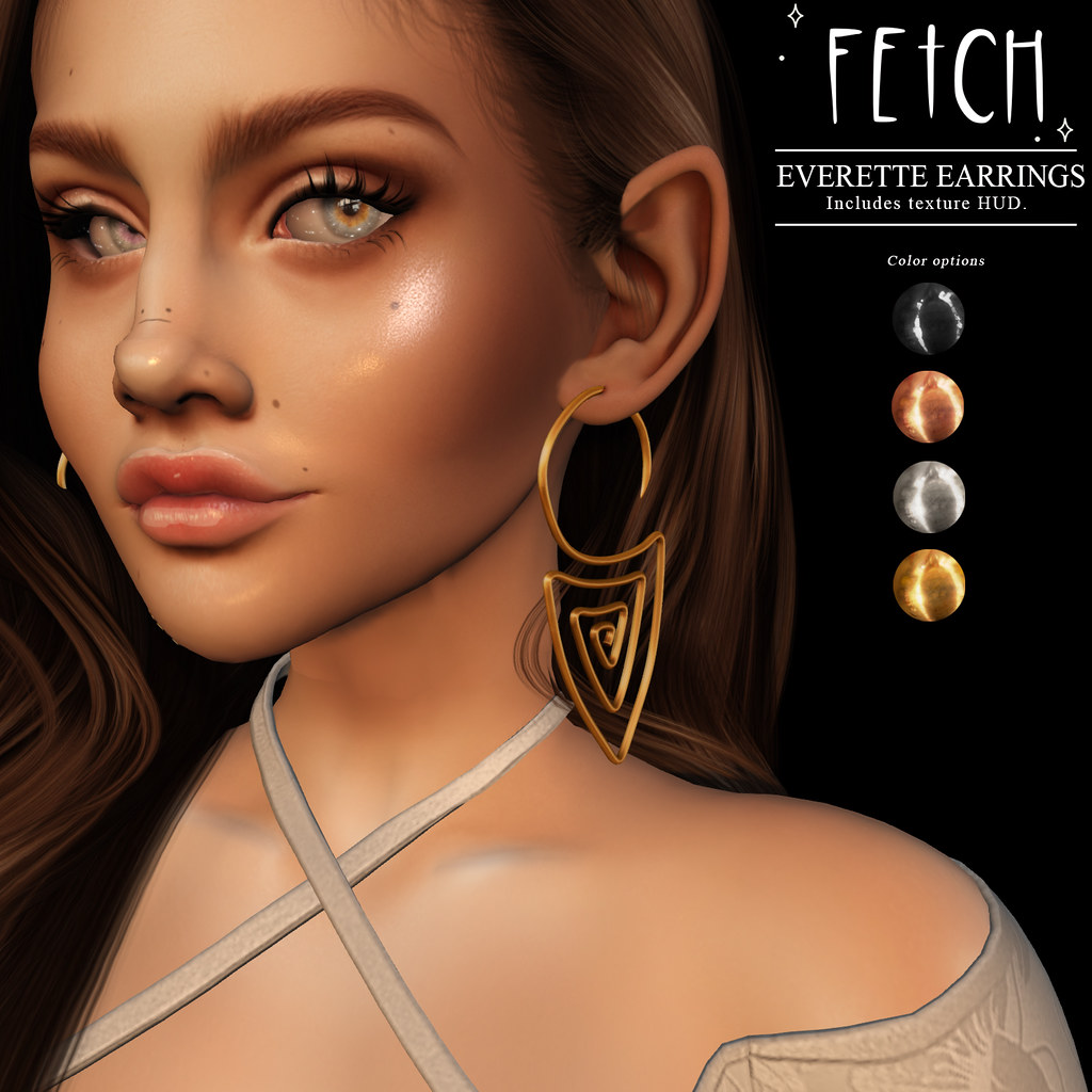 [Fetch] Everette Earrings @ Saturday Sale!